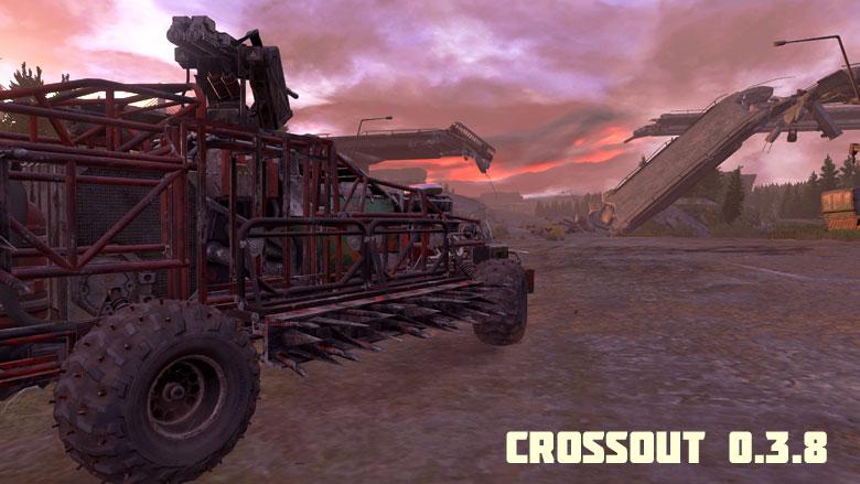 Новые режимы и карта в апдейте Crossout 0.3.8